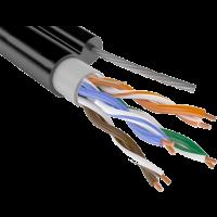 Cablu extern CAT 5E UTP CCA cu tros