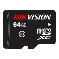 MicroSD Card Hikvision 64GB class10
